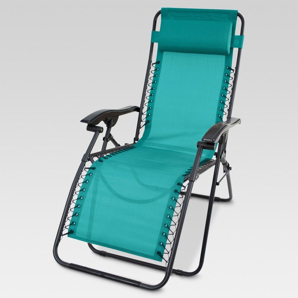 Miraculous Zero Gravity Lounger Turquoise Threshold Products In Machost Co Dining Chair Design Ideas Machostcouk