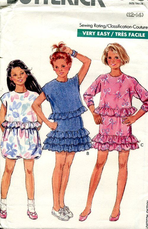 Butterick Children's fashion in the 1980s ( VIP Fashion ... - photo#18