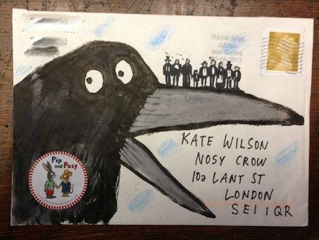 Envelopes from Axel Scheffler via Nosy Crow