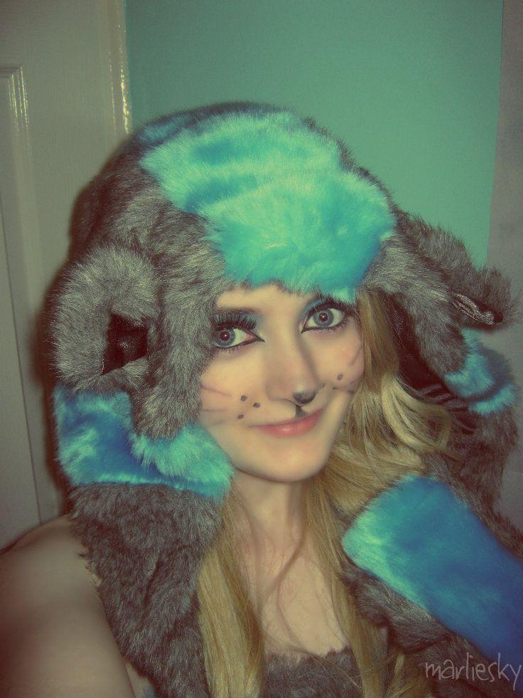 Tim Burton Cheshire Cat costume Cat halloween costume