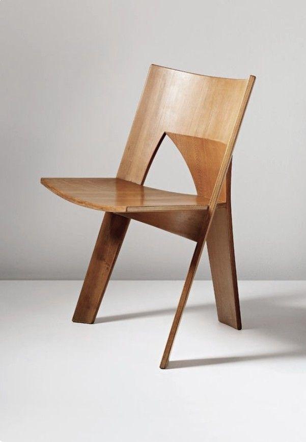 Nanna Ditzel Three Legged Chair Danish Furniture Design