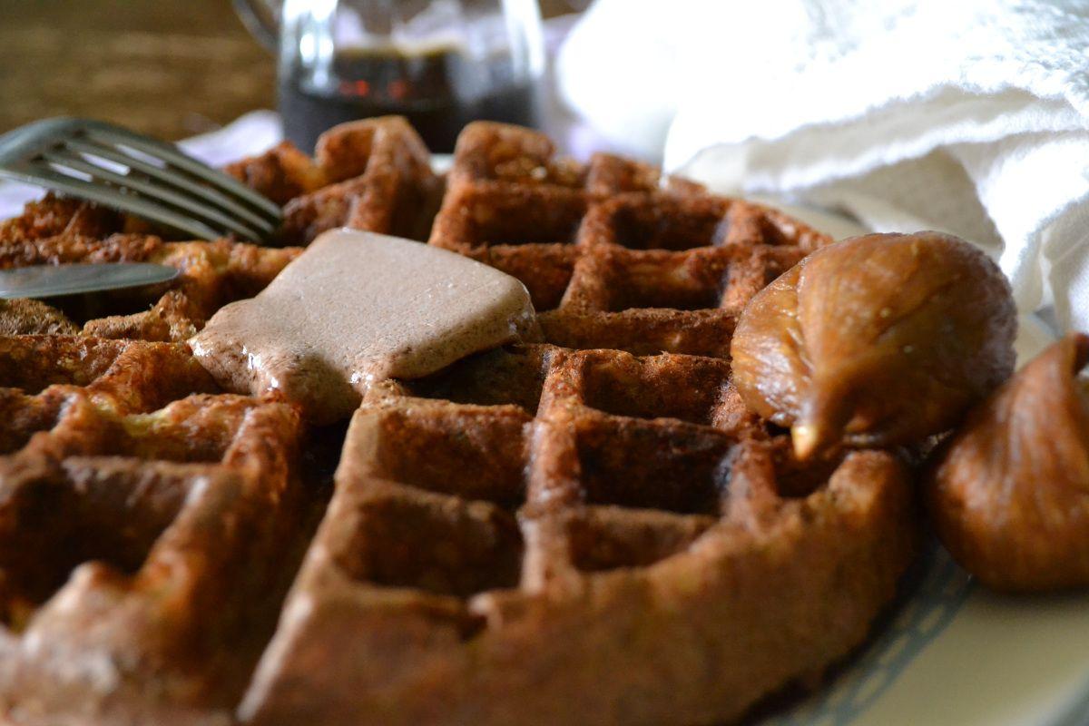 Waffle, Close Up