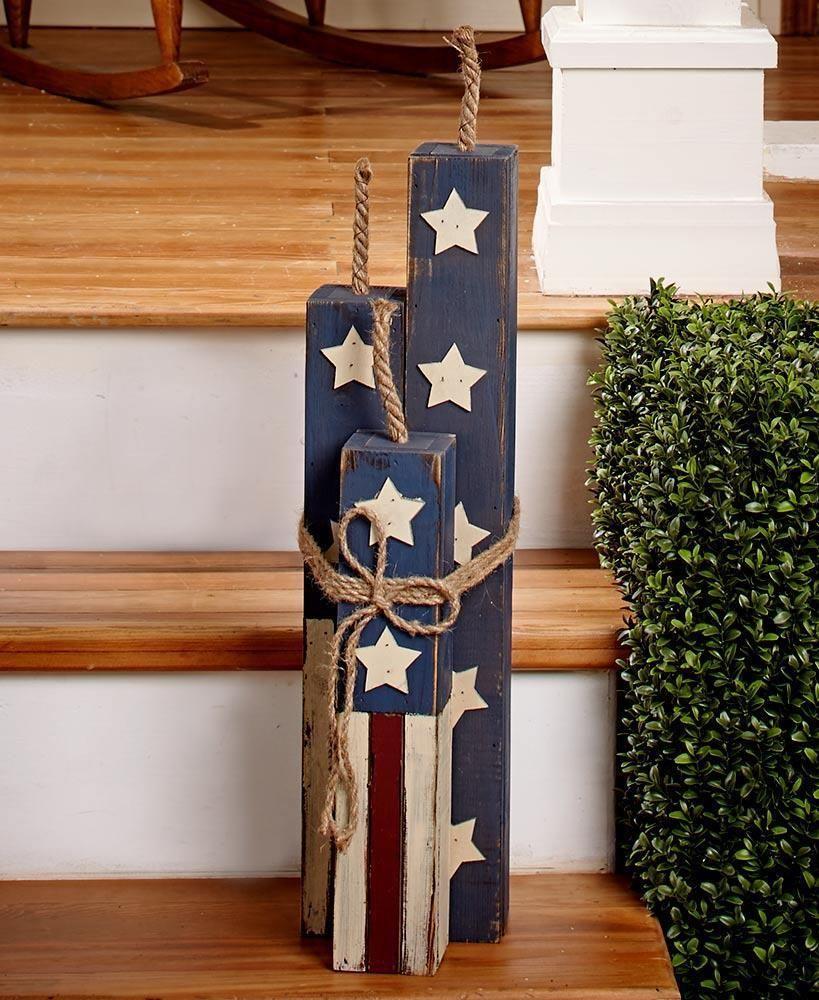 Rustic 22 Fireer Americana Country Patriotic July