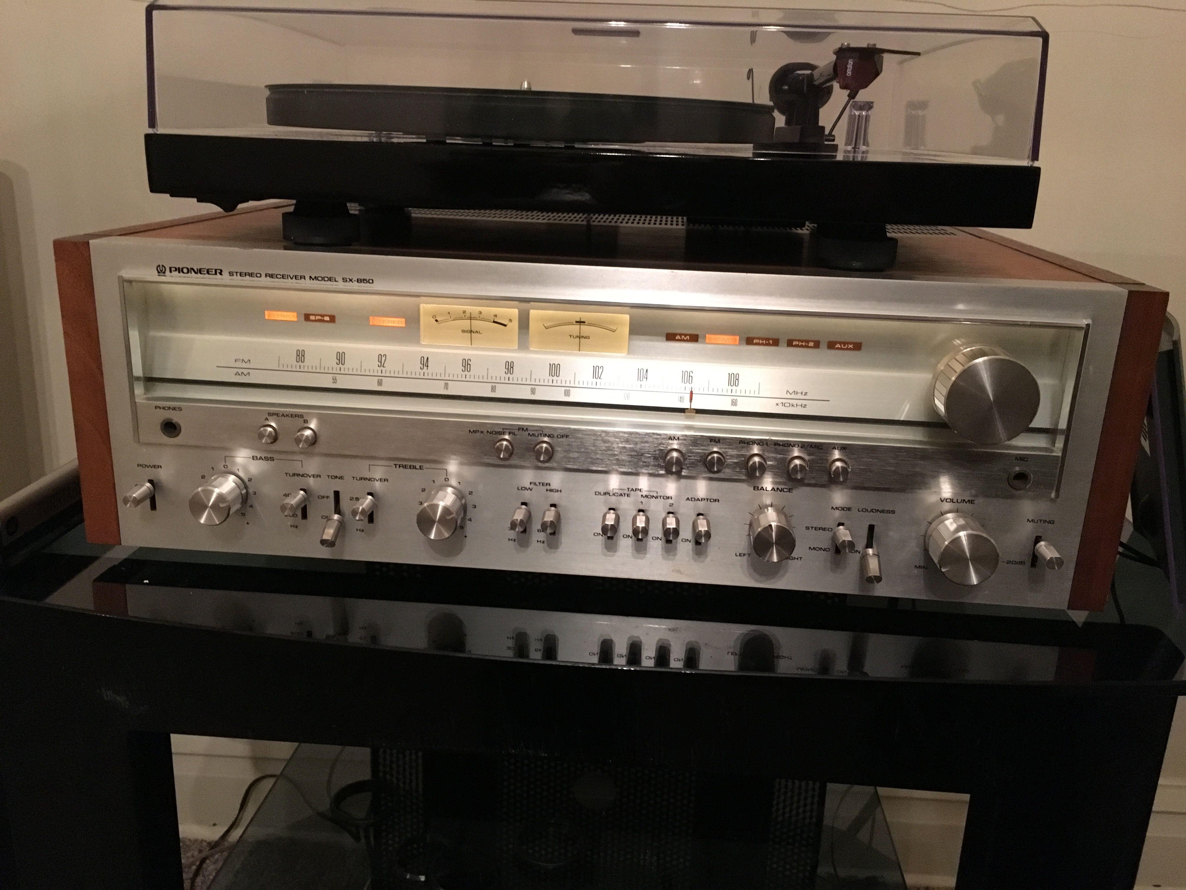 Pioneer Sx 850 Pioneer Audio Vintage Radio Hifi Audio