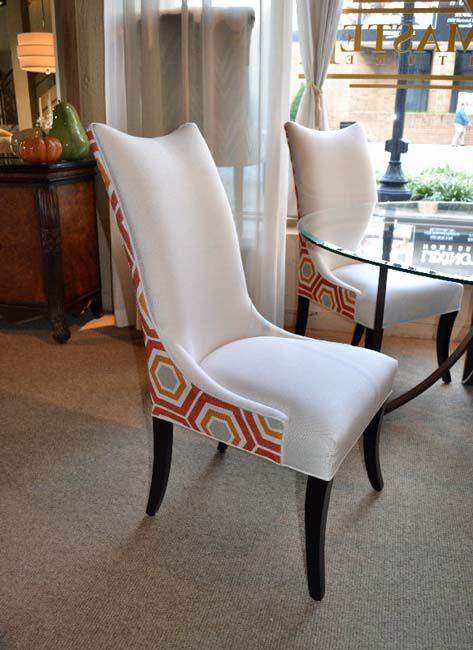 DesignMaster Dining Room Scooped Tall Back Host Chair 01-506 ...