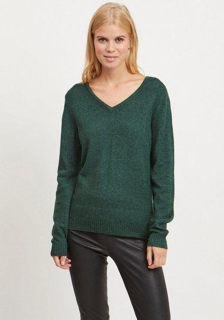 Photo of Vila V-Ausschnitt-Pullover »VIRIL« in melierter Optik online kaufen   OTTO