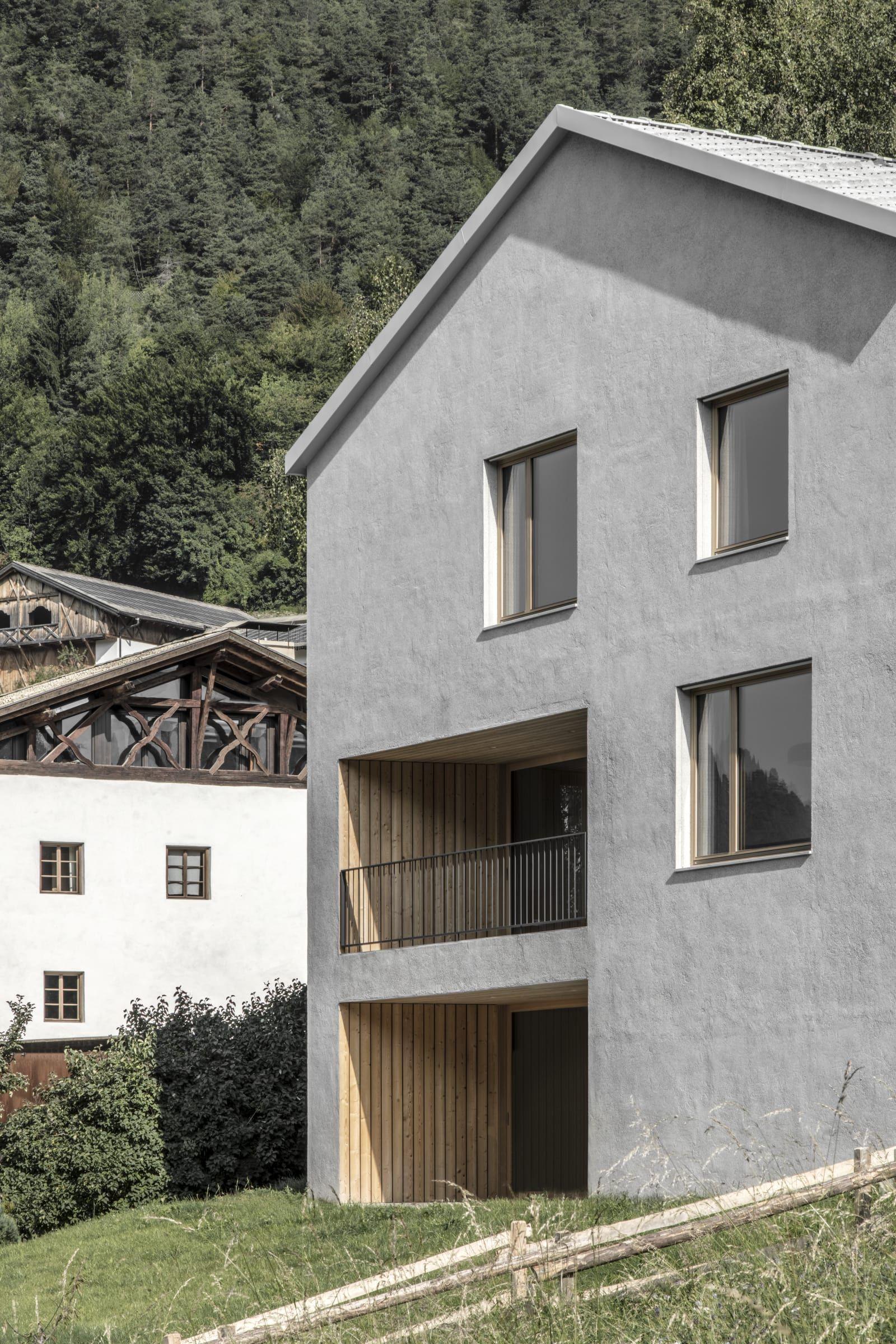 Architekt daniel ellecosta gustav willeit haus am for Case bellissime esterni