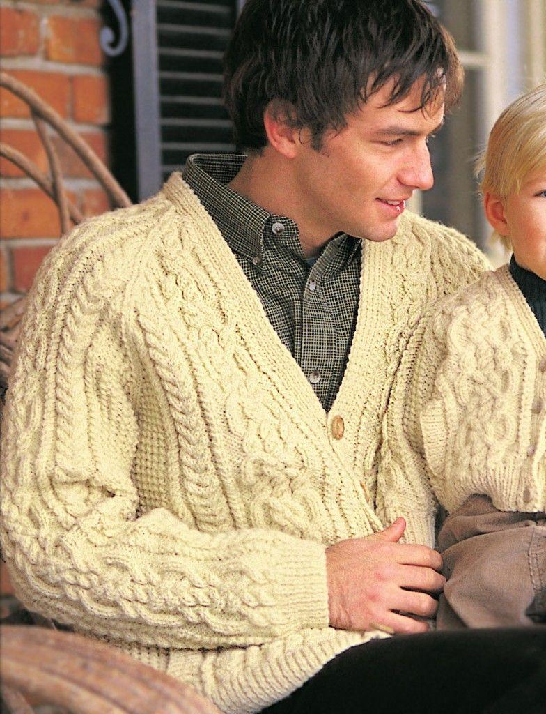 Top 5 Free Aran Jumper Knitting Patterns for Men | Knitting...my ...