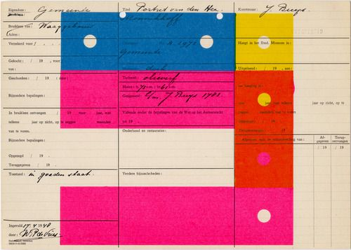 Letterpress works by Karel Martens Title: Nietzsche