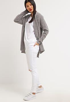 Noisy May - NMDEVILS  - Jeans Skinny Fit - bright white