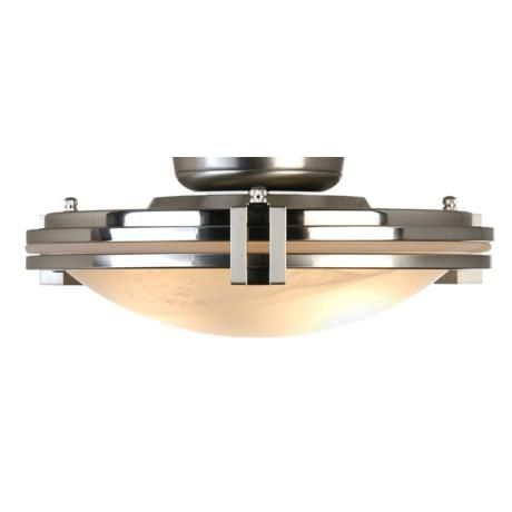 Pull Chain Ceiling Light Fixture Impressive Pull Chain Light Kit Brushed Steel W Alabaster Glass Decorating Design