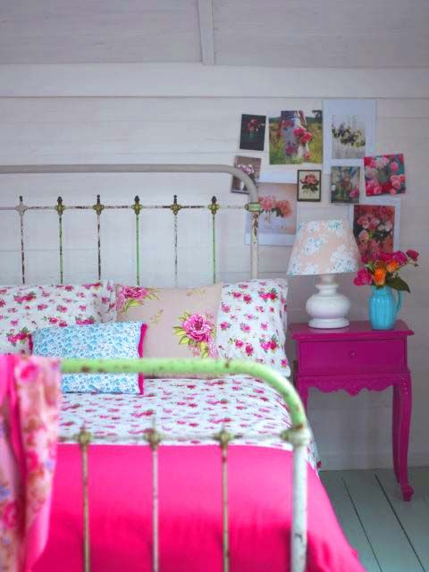 Romantic Girly Bed Deco Chambre Enfant Pinterest Metal Beds