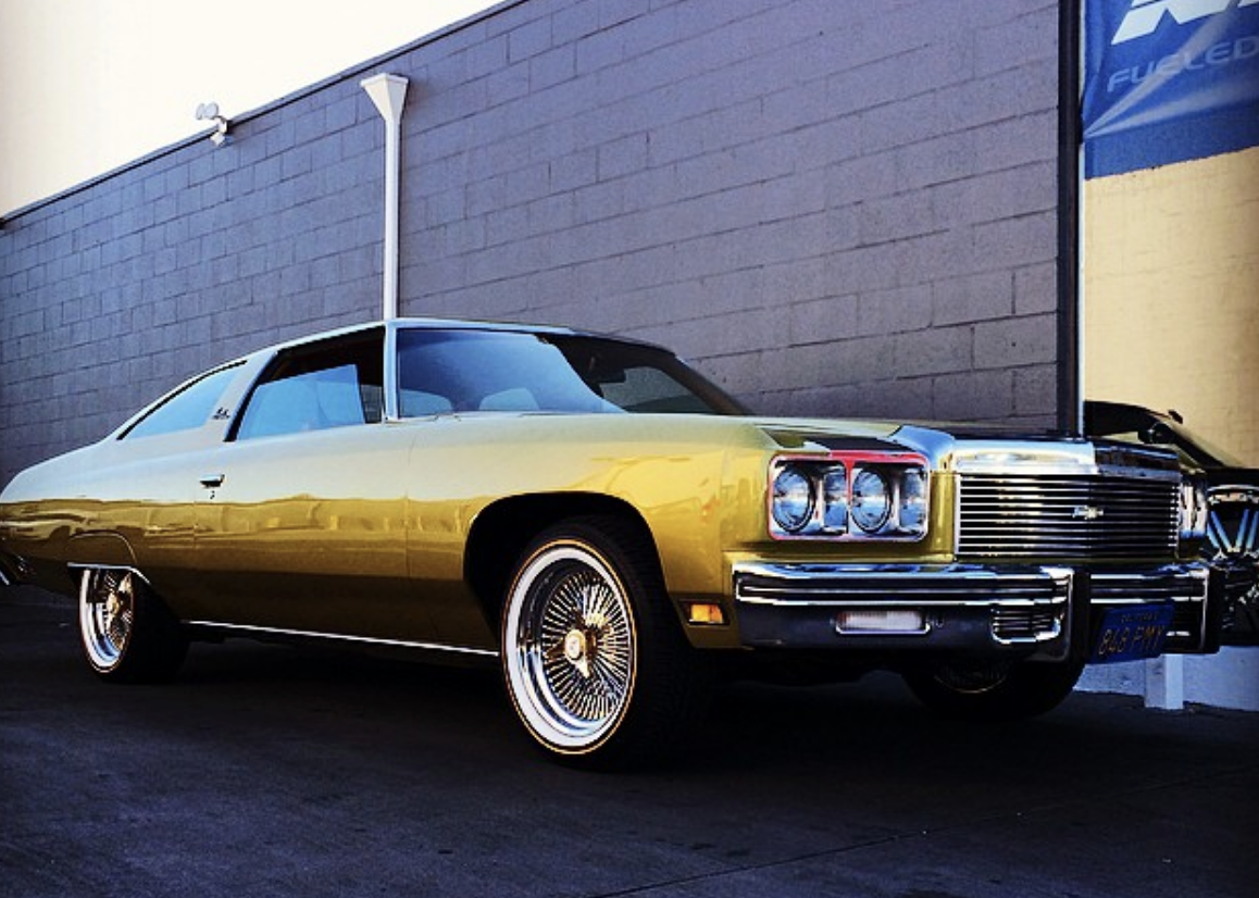 No Fools Gold Here 1972 Chevrolet Impala Custom Cars Classic