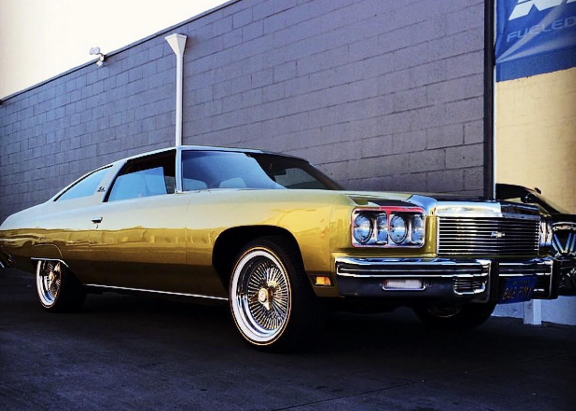 No Fools Gold Here 1972 Chevrolet Impala Custom Cars