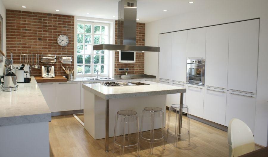 Cucina con isola   Interior design   Pinterest   Kitchens ...