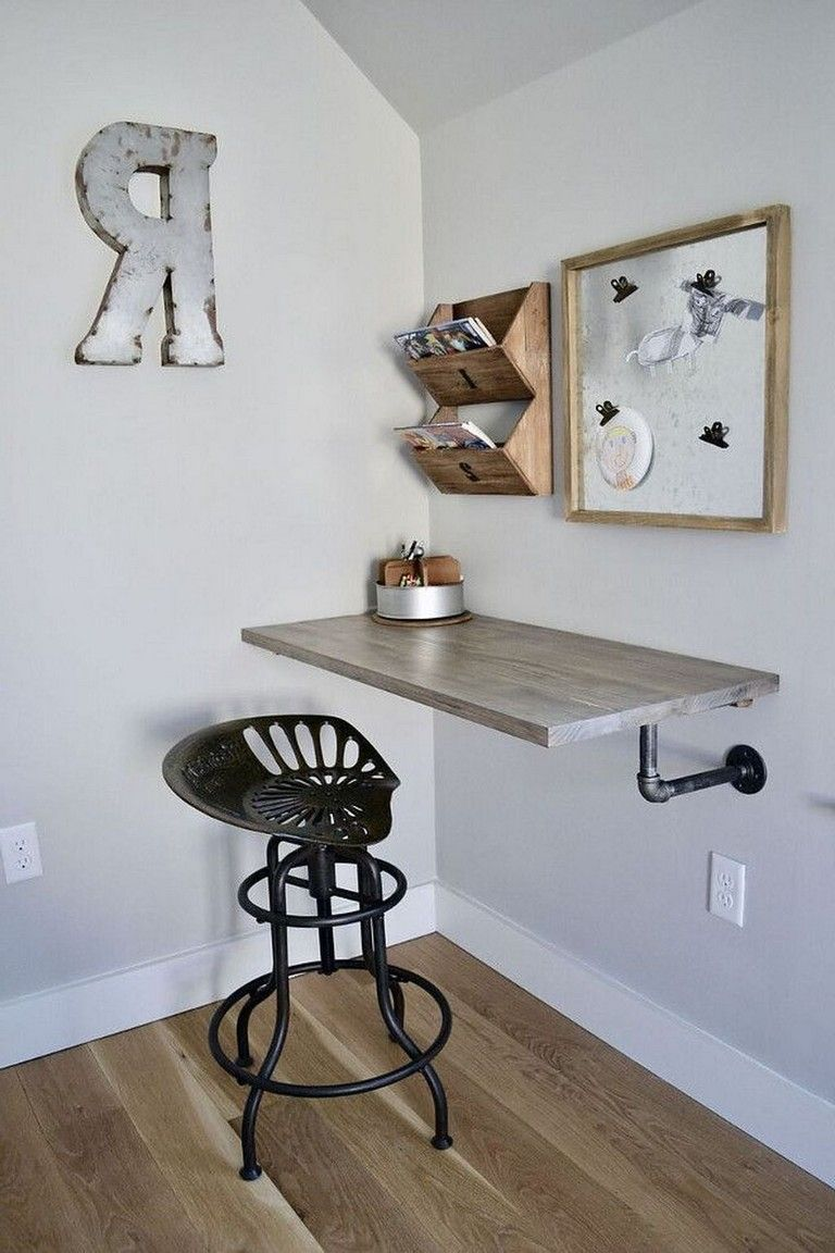30 Exciting Diy Home Office Desk Ideas With Images Simple Desk