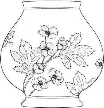 Vase Coloring Page Super Coloring Mandala Coloring Pages Flower Coloring Pages Coloring Pages
