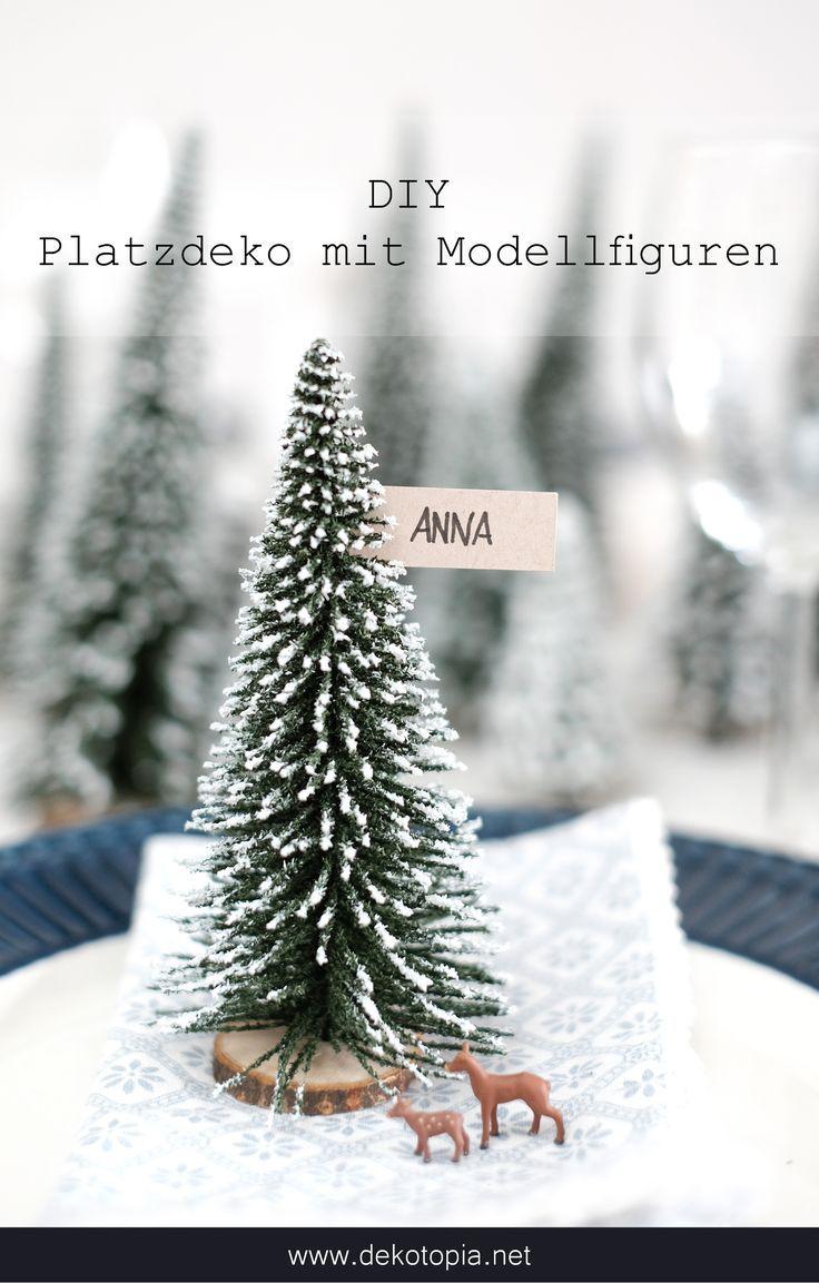 DIYnachten: Winterwald Tischdeko mit NOCH kreativ | dekotopia