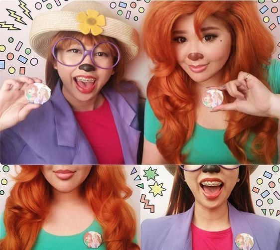 Stacey and Roxanne From 'A Goofy Movie' | Halloween Ideas ...