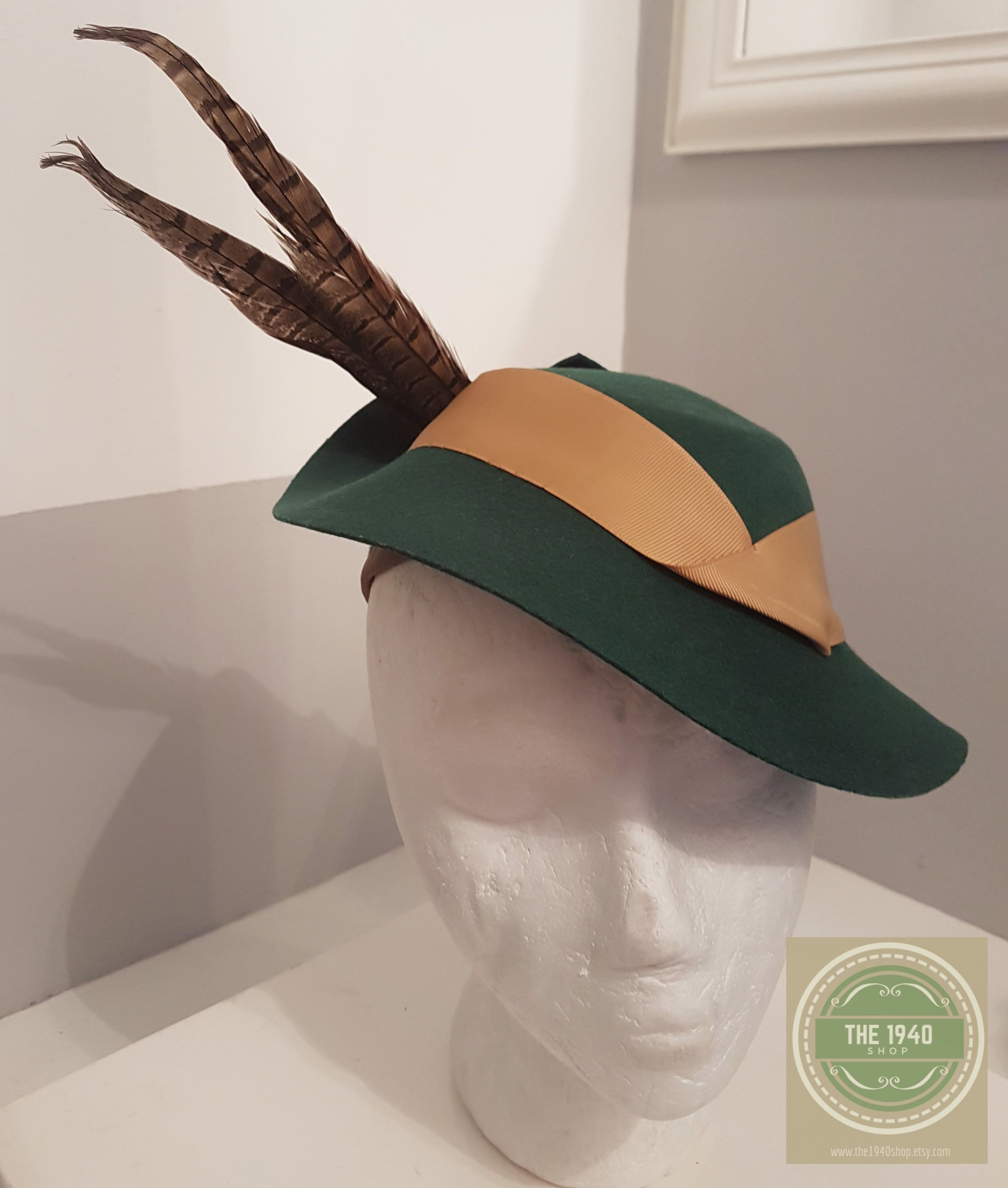 1940 s style ladies hat for Goodwood or Pickering. ww2 b9aeef692af