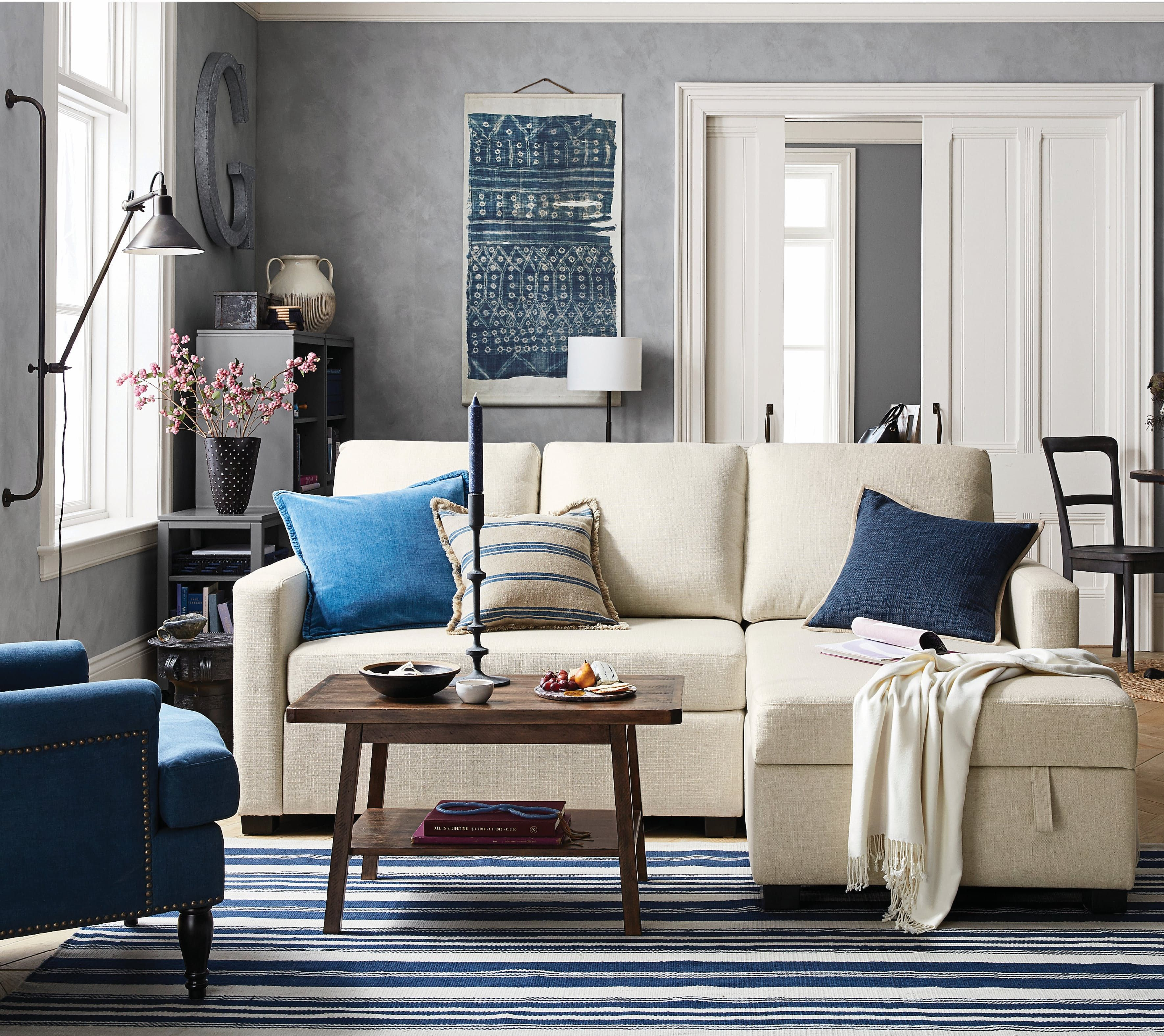 Big News for Small Spaces: Pottery Barn\'s New Collection | Storage
