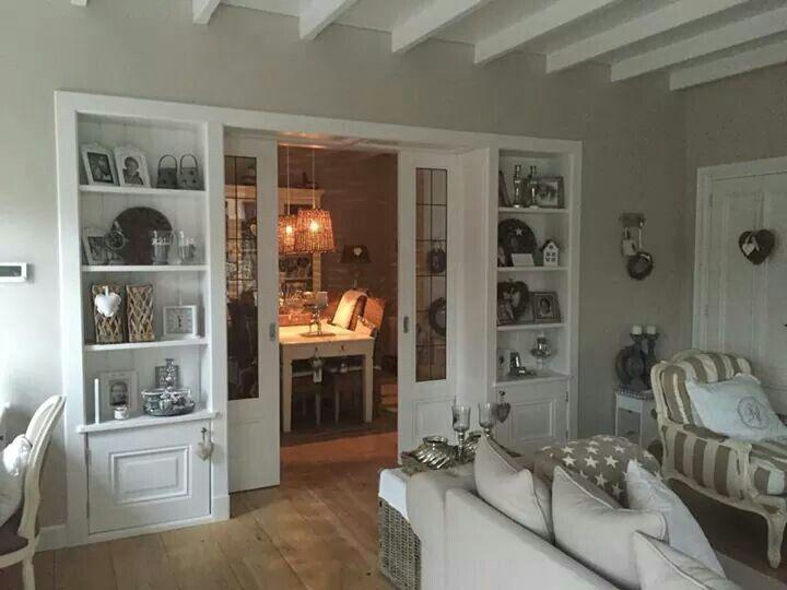 Kamer en suite en balkenplafond woonkamer pinterest balkenplafond forel en muur - Deco kamer kantoor ...