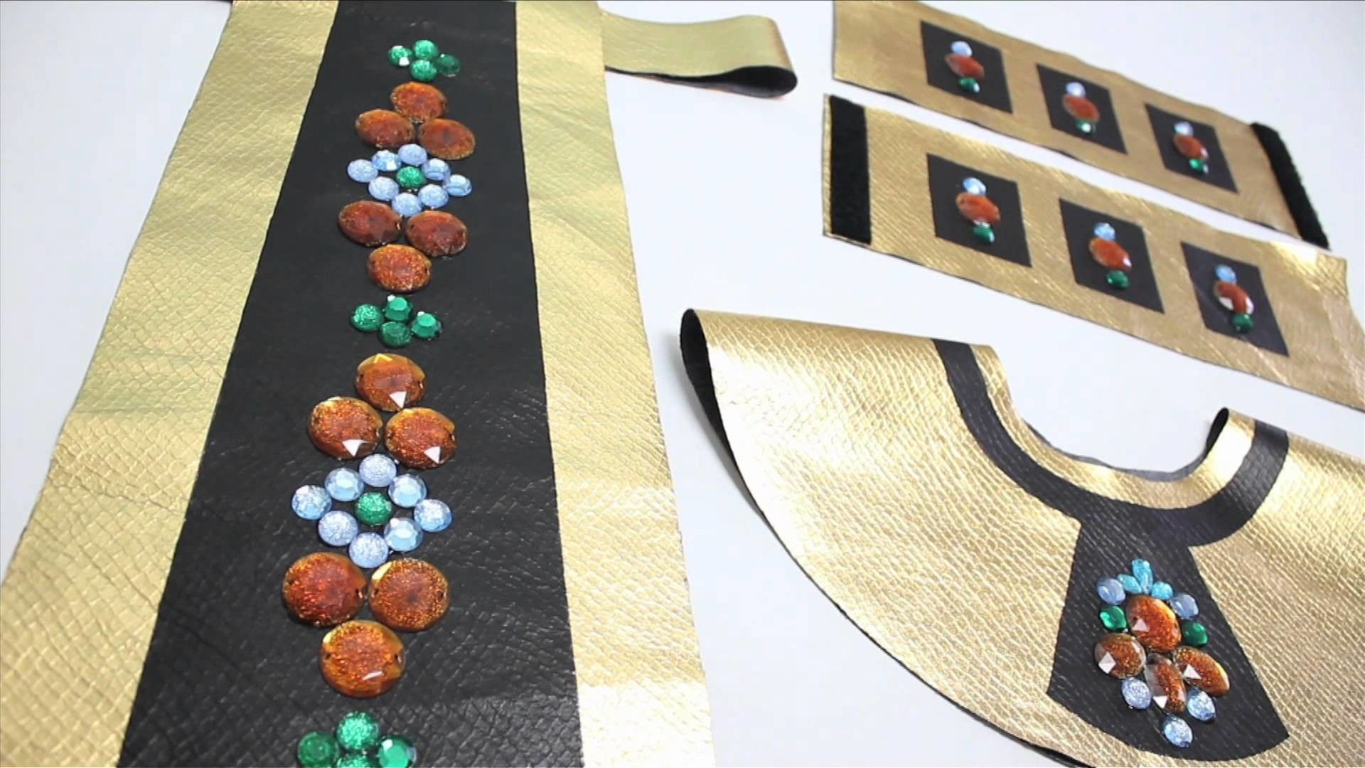 No Sew Cleopatra Costume Halloween How To Sewing Pinterest