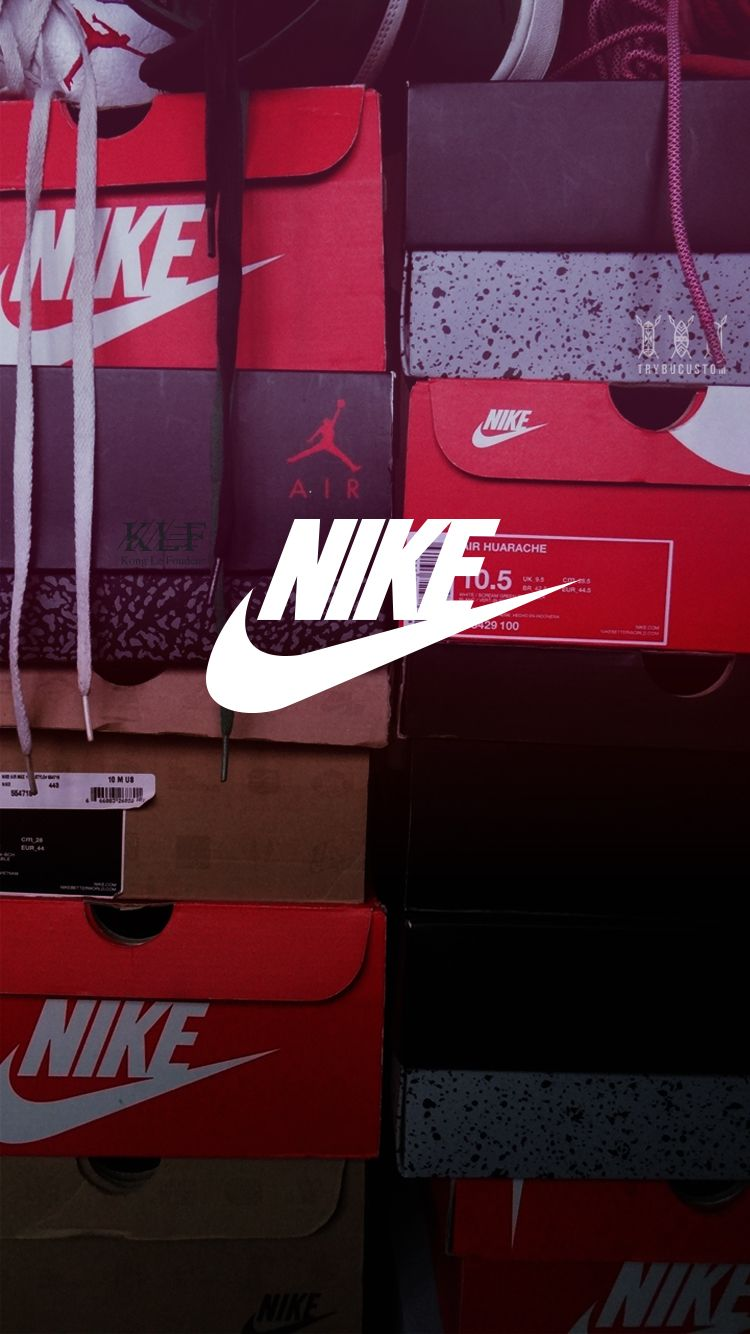 wholesale dealer bf77a 8f61a ... Air Jordan Logo Iphone Wallpaper  shoes 19 on. Nike Wallpaper  IphoneCool .