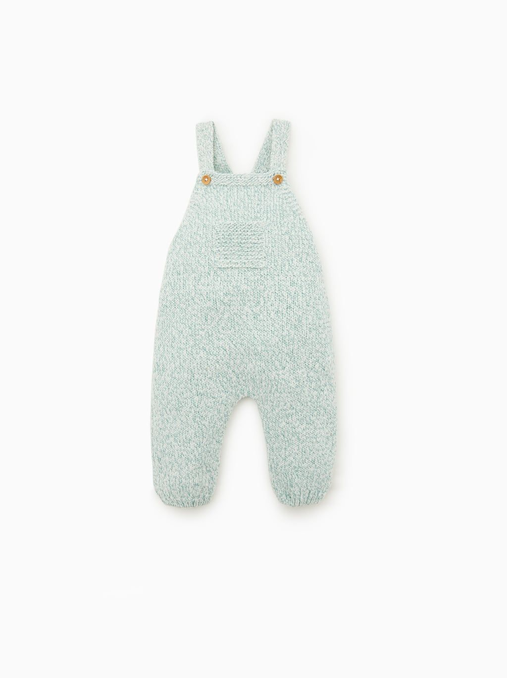 Blended knit overalls | Baby outfits newborn, Knitted baby ...