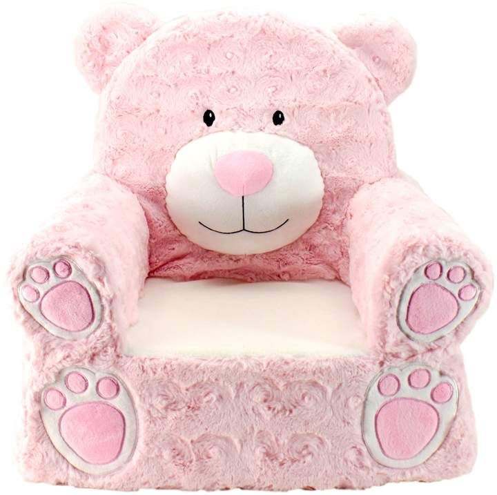 Astounding Animal Adventure Sweet Seats Pink Bear Chair Products Theyellowbook Wood Chair Design Ideas Theyellowbookinfo