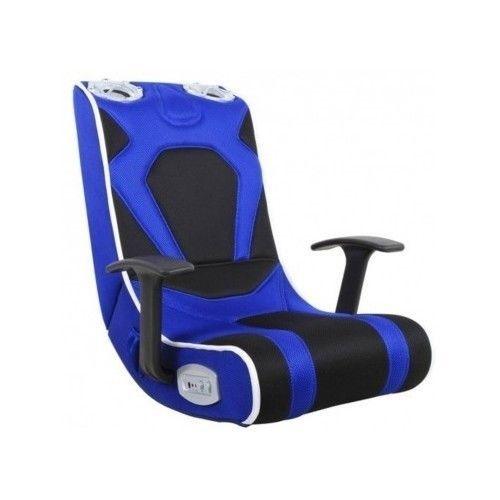 Video-Gaming-Chair-Speakers-Gamer-Blue-Xbox-One-PS3-PS4-Console