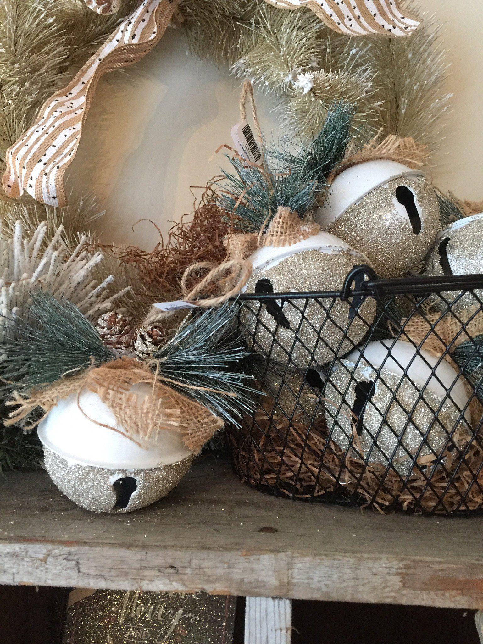 White Glitter Ball Ornament Glitter crafts, White