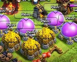 It is used for creating the black spells and for building the inferno tower. When your profile gets low the village can be attacked easily.