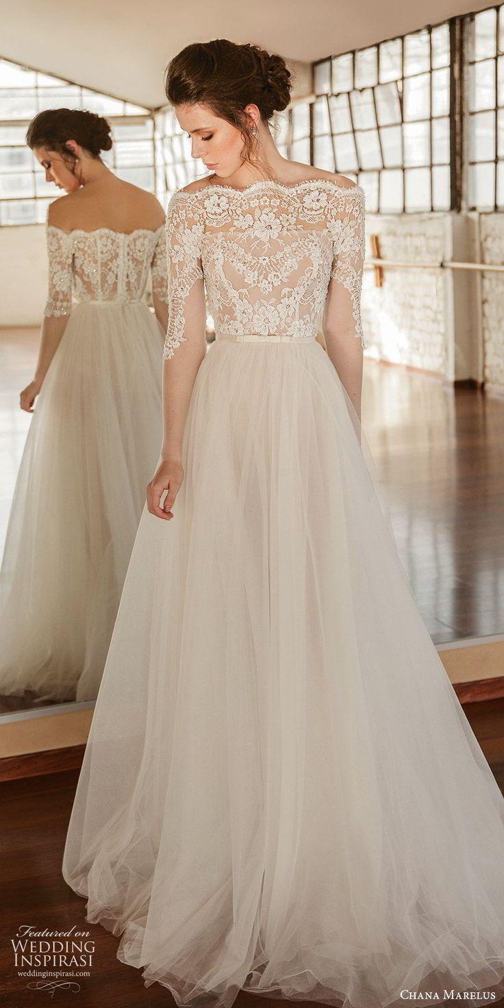 Chana Marelus Fall/Winter 2019 Wedding Dresses – New Ideas #longsleeveweddingdre…