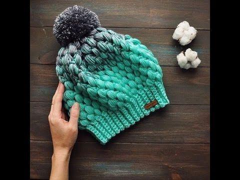 LOS 25 GORROS TEJIDOS a crochet MAS HERMOSOS 2017 - 2018 - YouTube ... 4eec4f1aa99
