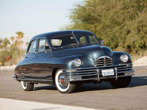 1948 Packard DeLuxe Eight Touring Sedan
