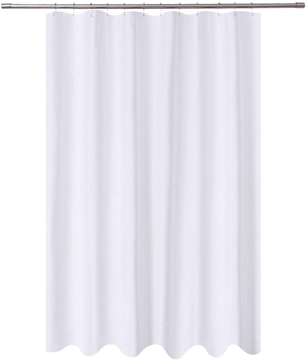 Amazon Com N Y Home Extra Long Shower Curtain Liner Fabric 72 X 96 Inches Hotel Quality Wash Long Shower Curtains Extra Long Shower Curtain Grommet Curtains