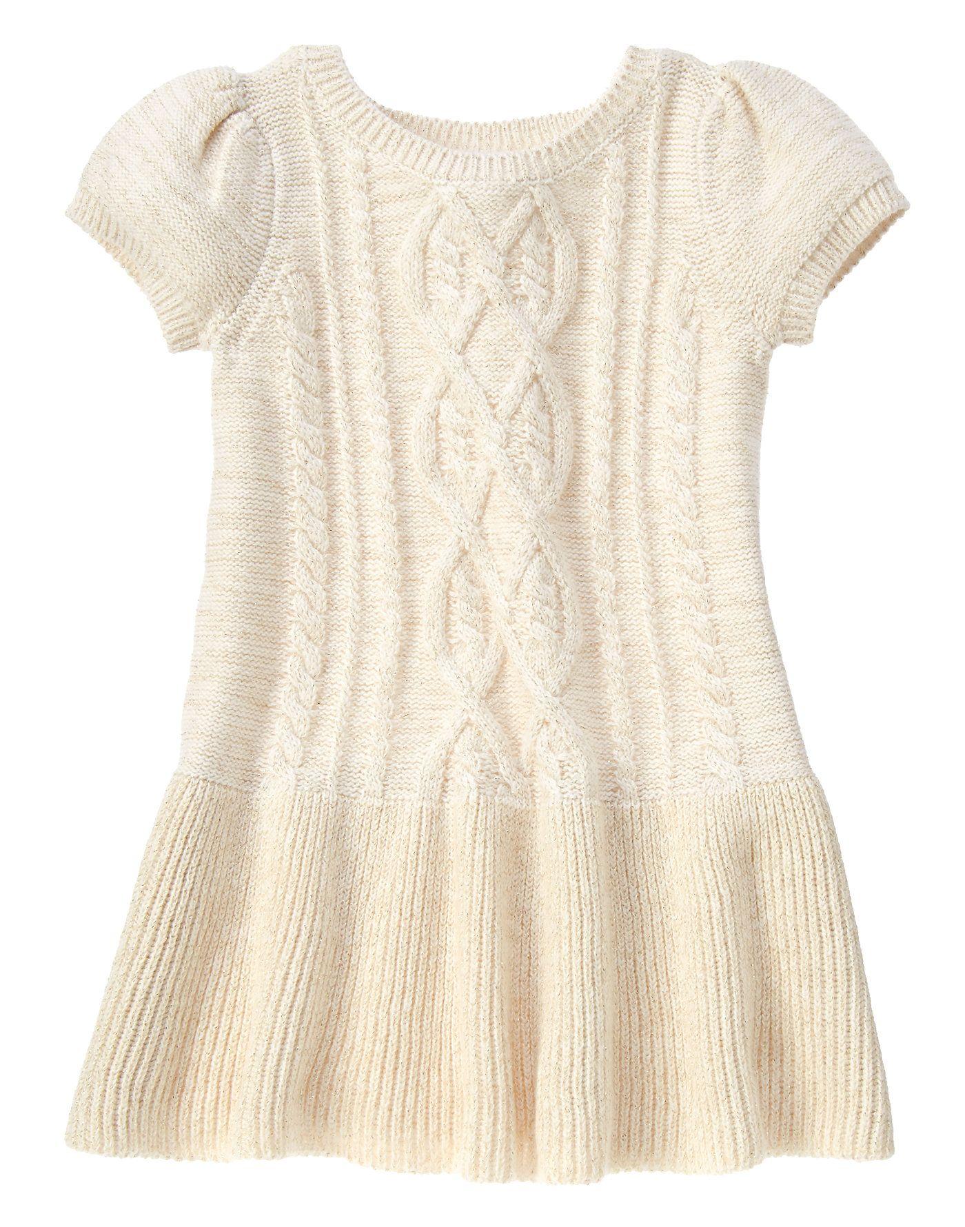 Cable-Knit Sweater Dress at Gymboree | Family Portrait- Lorelei ...