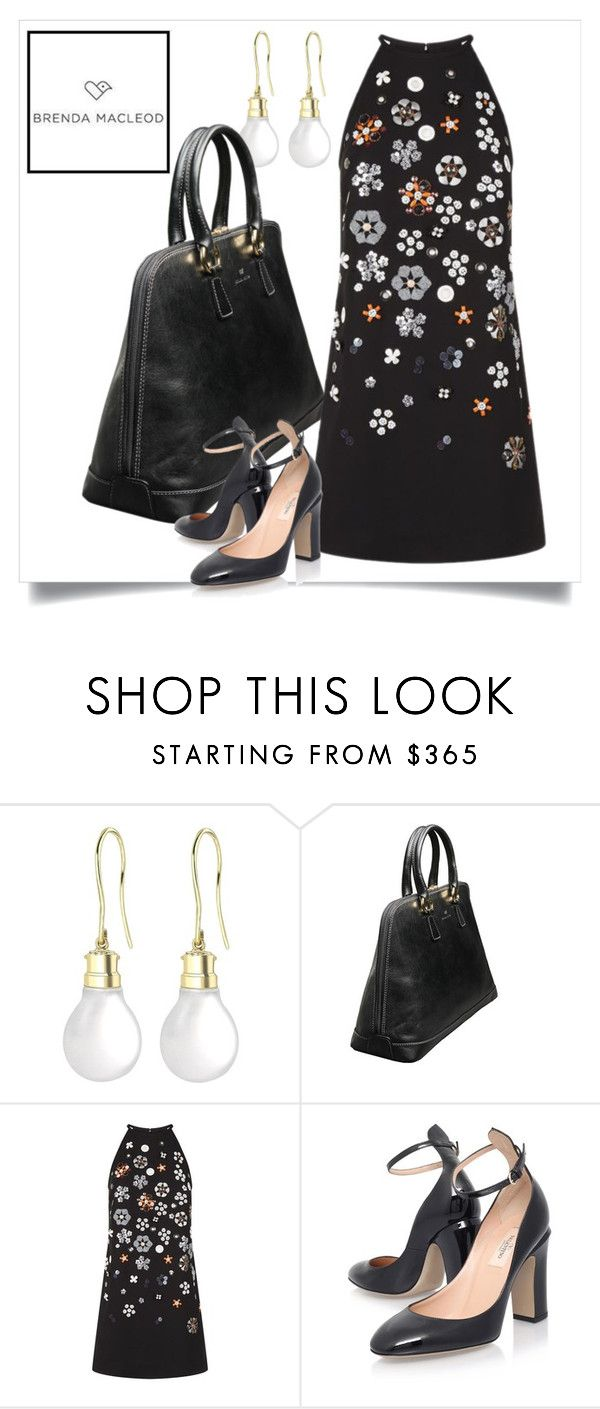 """""""classic"""" by brendamacleod ❤ liked on Polyvore featuring Theo Fennell, Victoria, Victoria Beckham and Valentino"""