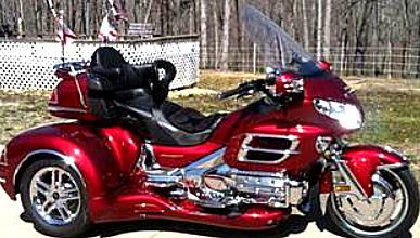 2003 Honda Goldwing Trike Motorcycle This Photo Is For Example Only Please Contact Er Pics Of The Actual In Clified