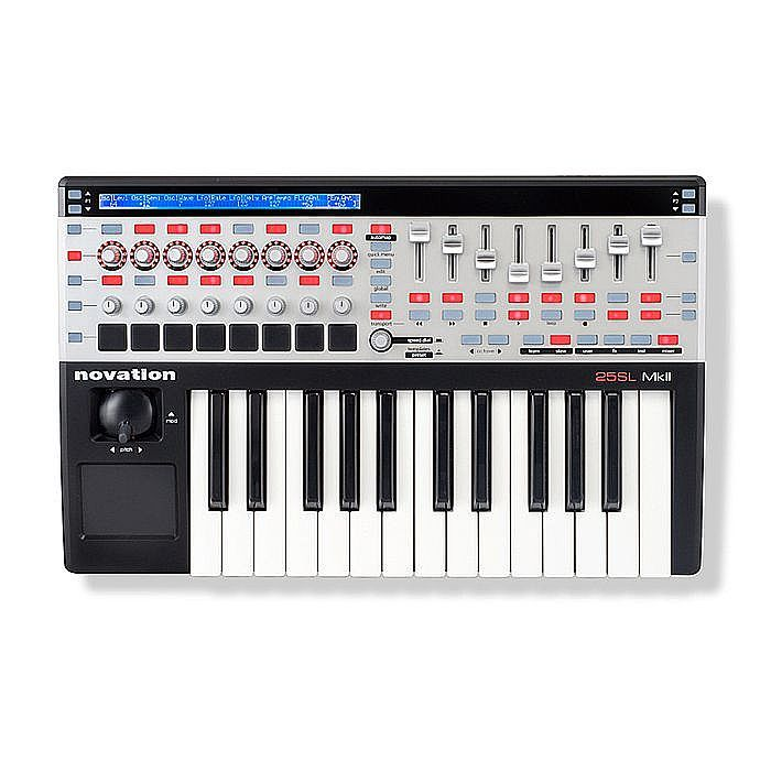 NOVATION - Novation 25 SL MkII USB MIDI Controller Keyboard