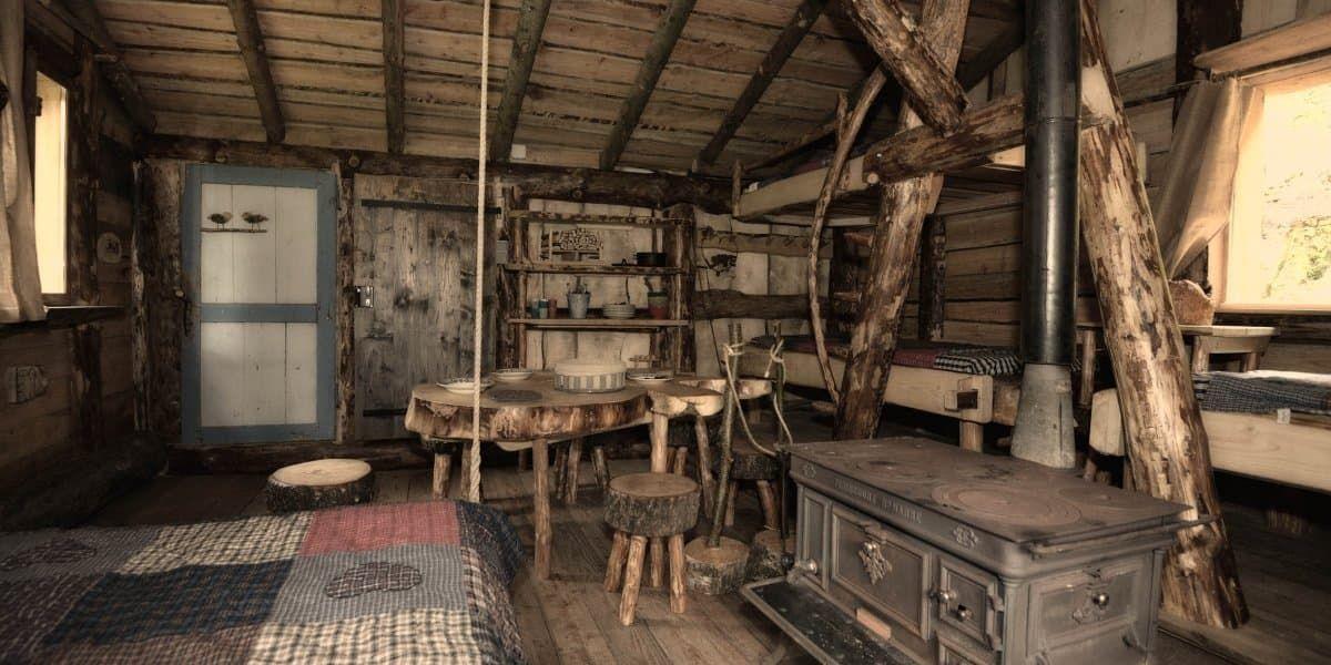 Cabanes Dans Les Arbres Passez Une Nuit Insolite Au Coeur Des Vosges Cabane Bois Cabane Dans Les Arbres