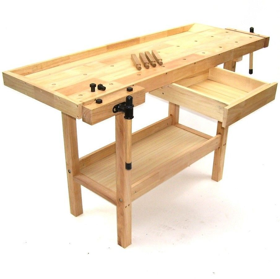 Werkbank f r kinder aus holz selber bauen wohn design for Arbeitstisch kuche selber bauen