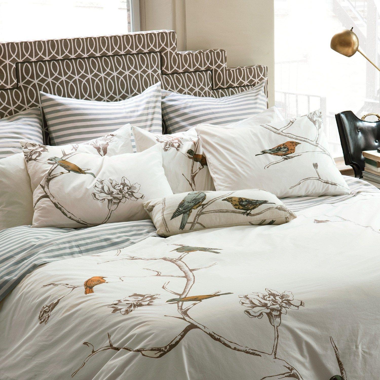 dwellstudio home chinoiserie duvet cover set  quilts and bed  - dwellstudio home chinoiserie duvet cover set