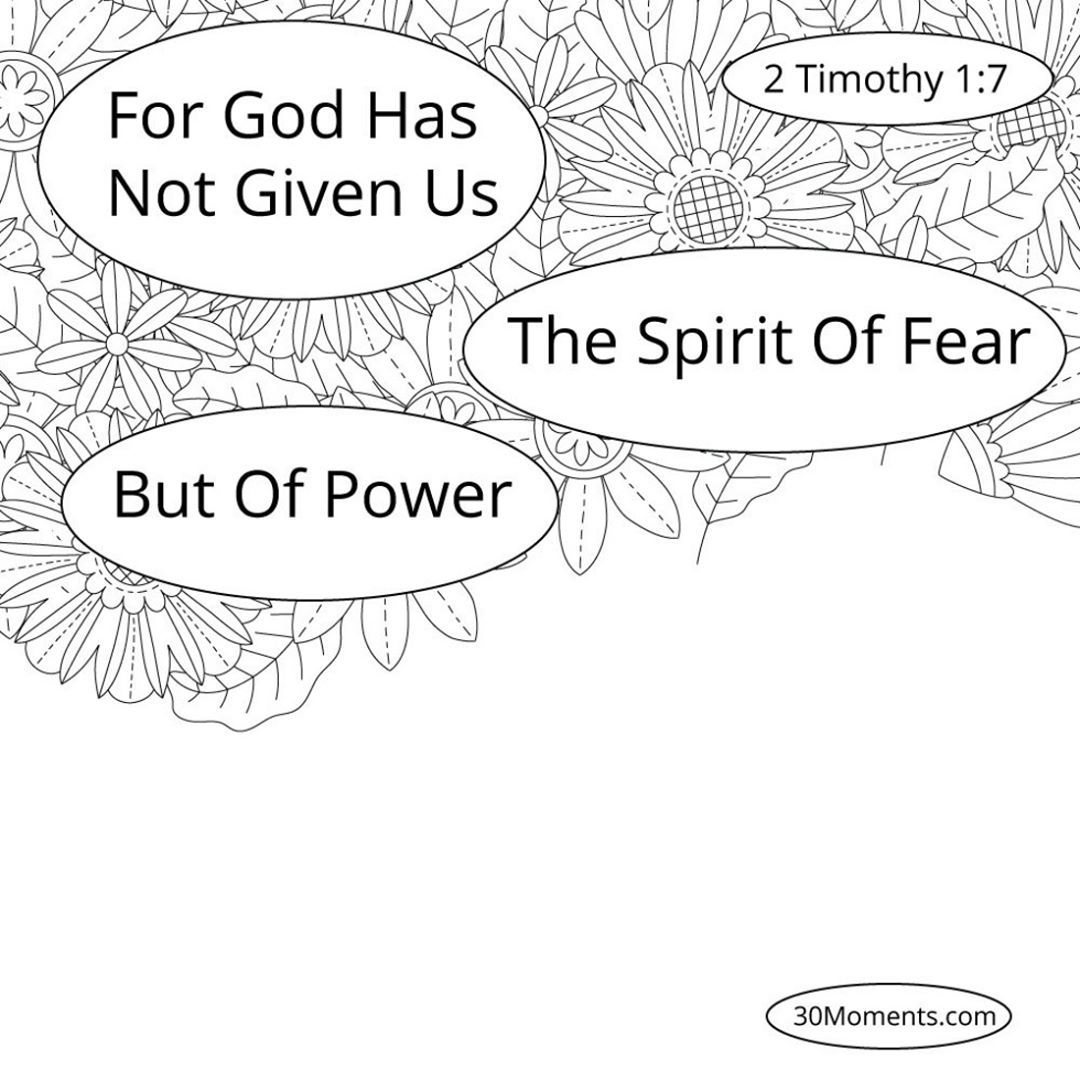 Day 3 2 Timothy 1 7