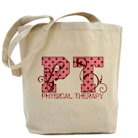 Physical Therapy tote