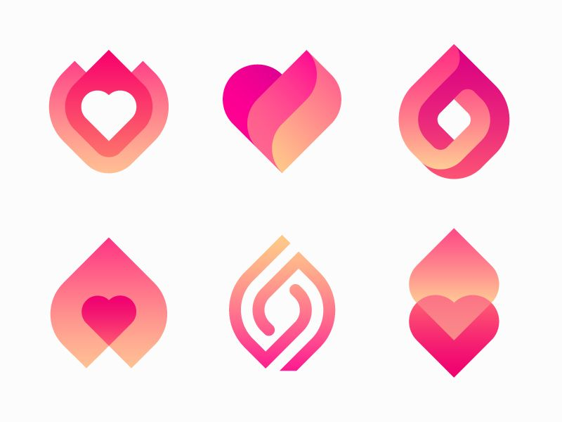 Logo options for dating app (With images)