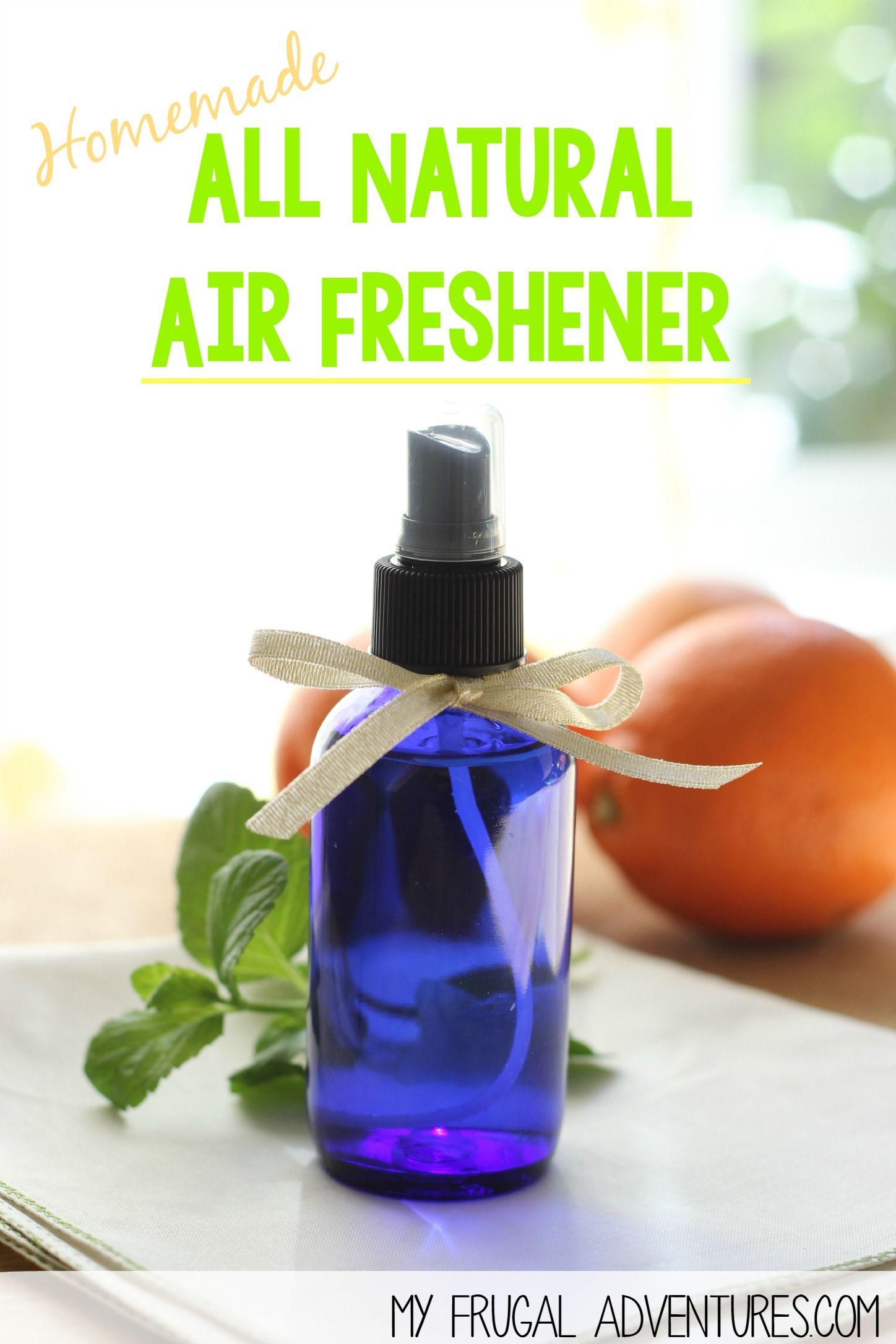 Homemade All Natural Air Freshener (DIY Febreze Spray