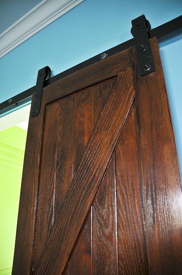 HOME DECOR – SLIDING BARN DOORS – Barn door idea for closet