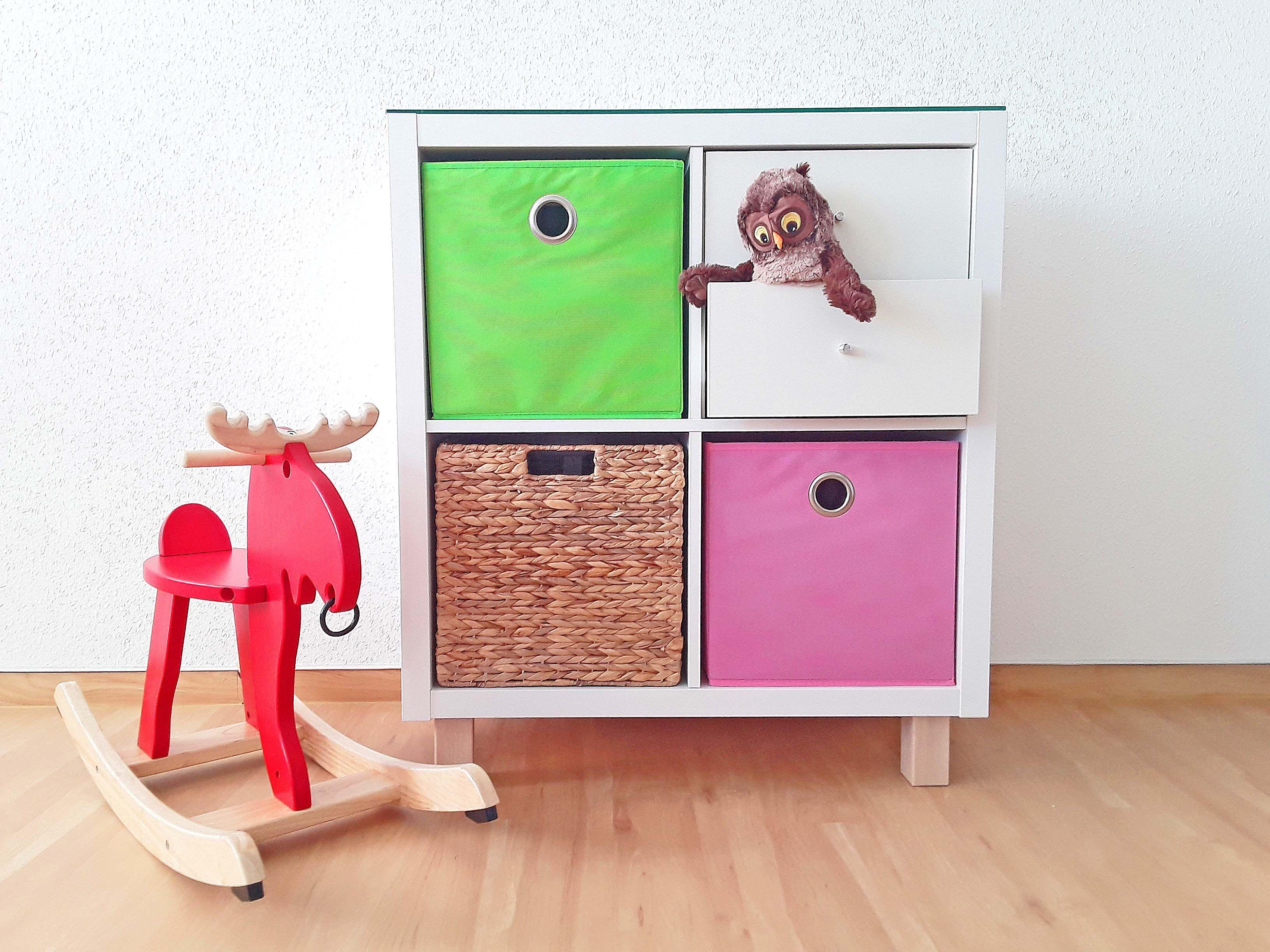 oskar kallax regal pimps pinterest kallax regal regal und kinderzimmer. Black Bedroom Furniture Sets. Home Design Ideas